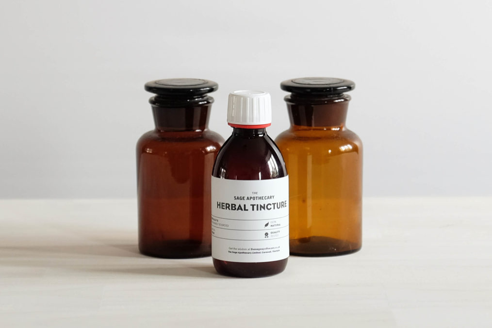 The Sage Apothecary, Herbal Tinctures, Herbal Medicine, Ashwagandha
